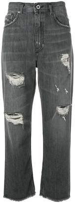 Diesel Black Gold distressed boyfriend jeans