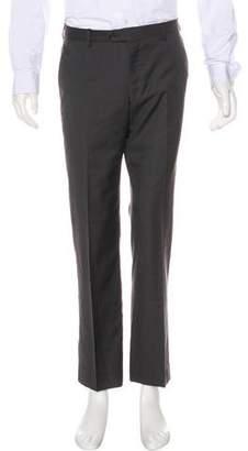 Paul Smith Striped Wool Dress Pants