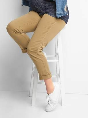 Gap Maternity Demi Panel Girlfriend Chinos