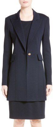 Women's St. John Collection Milano Knit Blazer $1,395 thestylecure.com