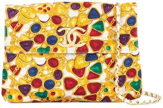 Chanel PRE-OWNED Bijou Print Chain shoulder bag