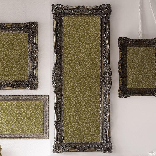 Ruffle Edge Mirror-Floor--Mocha