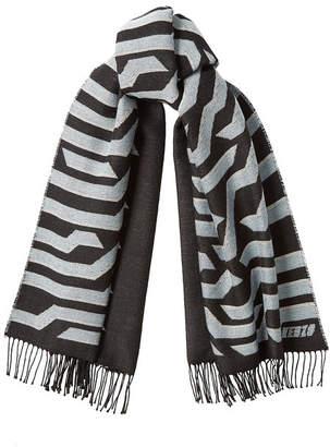 Kenzo Printed Wool Scarf