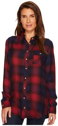 Tolani Emma Plaid Top Women's Clothing