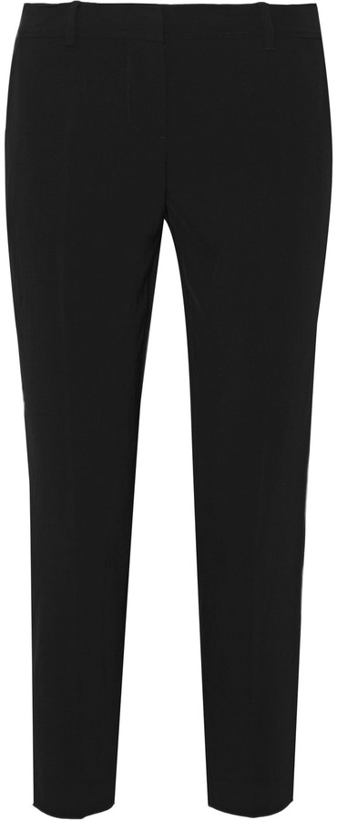 DKNY DKNY Cropped twill tapered pants