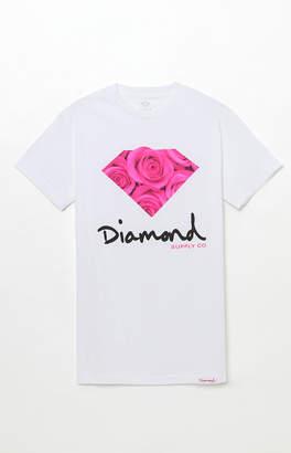 Diamond Supply Co. OG Sign Rose T-Shirt