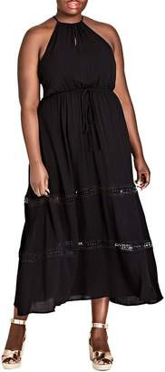 City Chic Summer Holiday Maxi Dress