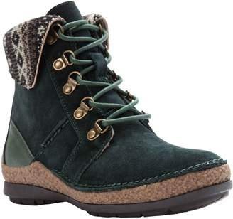 Propet Suede Ankle Boots - Dayna
