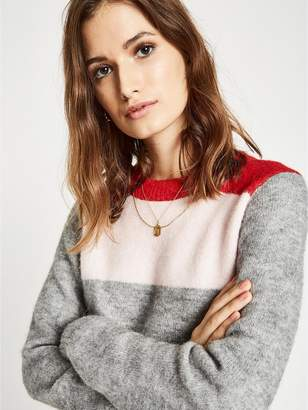 Jack Wills Willowbank Stripe Jumper - Pink