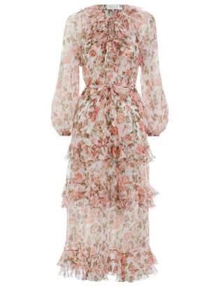 Zimmermann Radiate Frill Dress