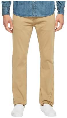 Mavi Jeans Zach Classic Straight Jeans in British Khaki Twill Men's Jeans