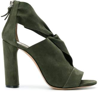 Casadei cutout ankle boots