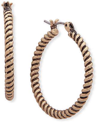 Chaps 21.6mm Hoop Earrings