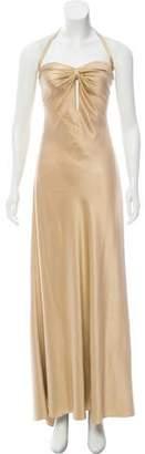 Ralph Lauren Silk Evening Gown