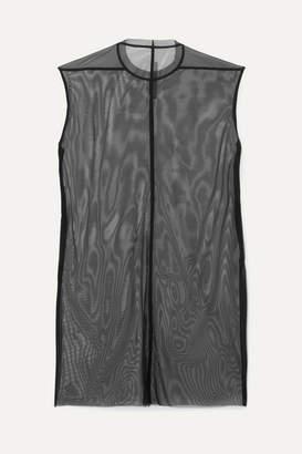 Rick Owens Stretch-mesh Mini Dress - Black