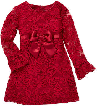 Biscotti Girls 4-6x) Red Bow Dress