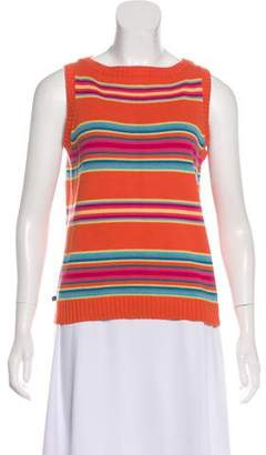 Lauren Ralph Lauren Printed Sleeveless Knit Top