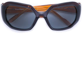 Courreges round framed sunglasses