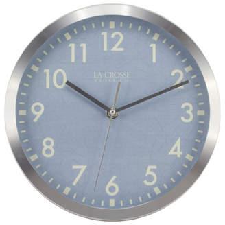 La Crosse Technology 10 Metal Analog Wall Clock