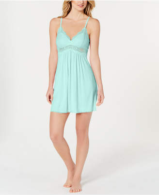 INC International Concepts I.N.C. Lace-Trimmed Knit Chemise, Created for Macy's