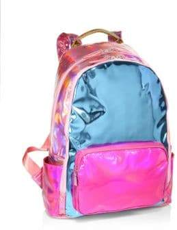 Bari Lynn Hologram School Backpack