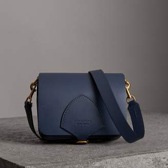 Burberry The Medium Square Satchel in Leather