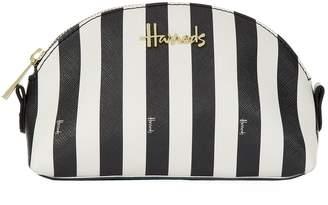 Harrods Boutique Multi Stripe Small Cosmetic Bag
