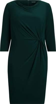 Ralph Lauren Twisted-Knot Jersey Dress