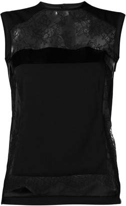 DSQUARED2 lace panel tank