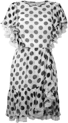 Dolce & Gabbana polka dot ruffled dress
