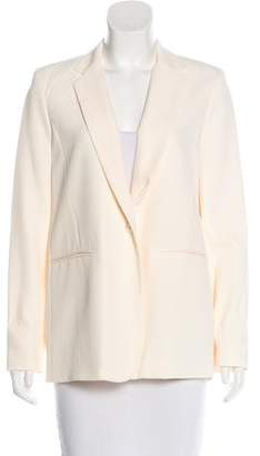 Nomia Slit-Accented Notch-Lapel Blazer w/ Tags
