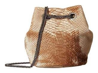 Deux Lux Hazel Chain Drawstring Drawstring Handbags