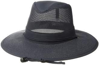 San Diego Hat Company Mesh Safari Hat w/ Chin Cord Caps