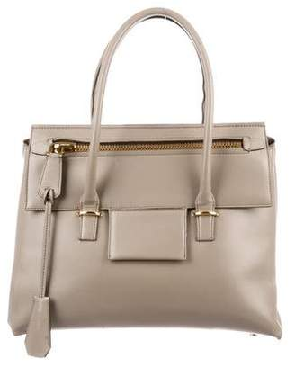 Tom Ford Leather Icon Handle Bag