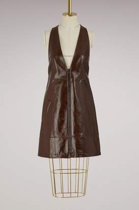 Chloé Leather mini dress