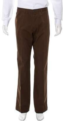 Dries Van Noten Flat Front Chino Pants