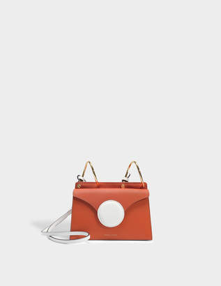 Lente Danse Mini Phoebe Bag in Brick Italian Calfskin
