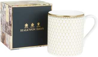Halcyon Days Antler Trellis China Mug
