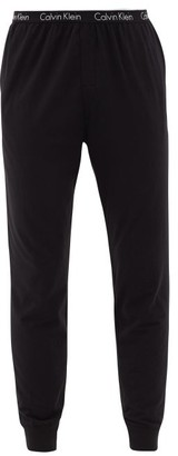 Calvin Klein Underwear Logo Print Stretch Cotton Pyjama Trousers - Mens - Black