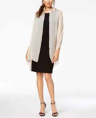 INC International Concepts I.N.C. Beaded Lines Evening Wrap, Created for Macy's
