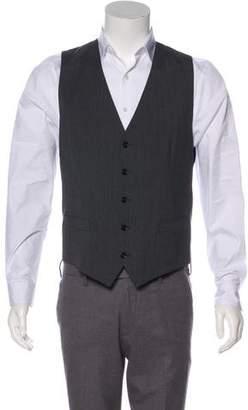 Dolce & Gabbana Wool V-Neck Vest
