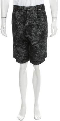 Song For The Mute Layered Virgin Wool Shorts w/ Tags