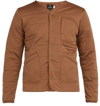 Snow Peak - Flex Quilted Jersey Cardigan - Mens - Brown