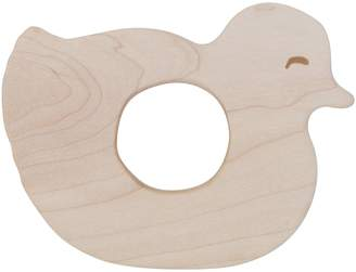 story. Wooden Baby Duck Wooden Teether