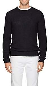 S.MORITZ Men's Mélange Knit Sweater - Blue