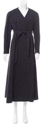 CNC Costume National Long Belted Coat