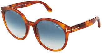 Tom Ford Philippa Havana Acetate Sunglasses