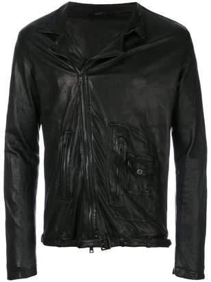 Giorgio Brato distressed biker jacket