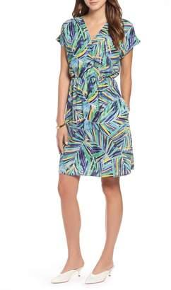Halogen Faux Wrap Dress