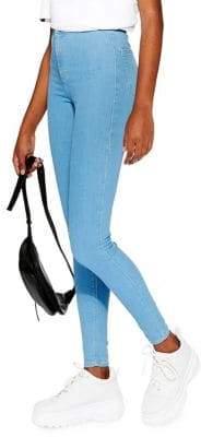 Topshop JONI Bleached Jamie Jeans 32-Inch Leg